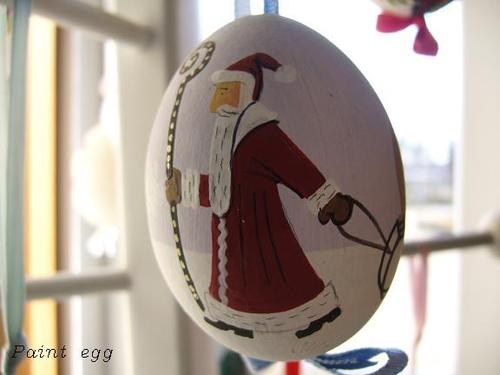 paint egg !