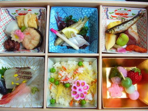 2008.4.13お花見弁当