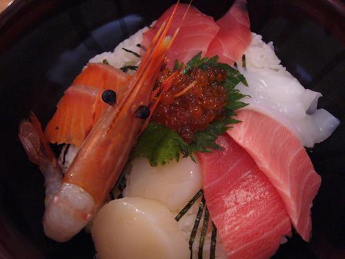 海鮮丼in伊勢